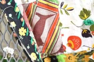 fixing an old patchwork quilt