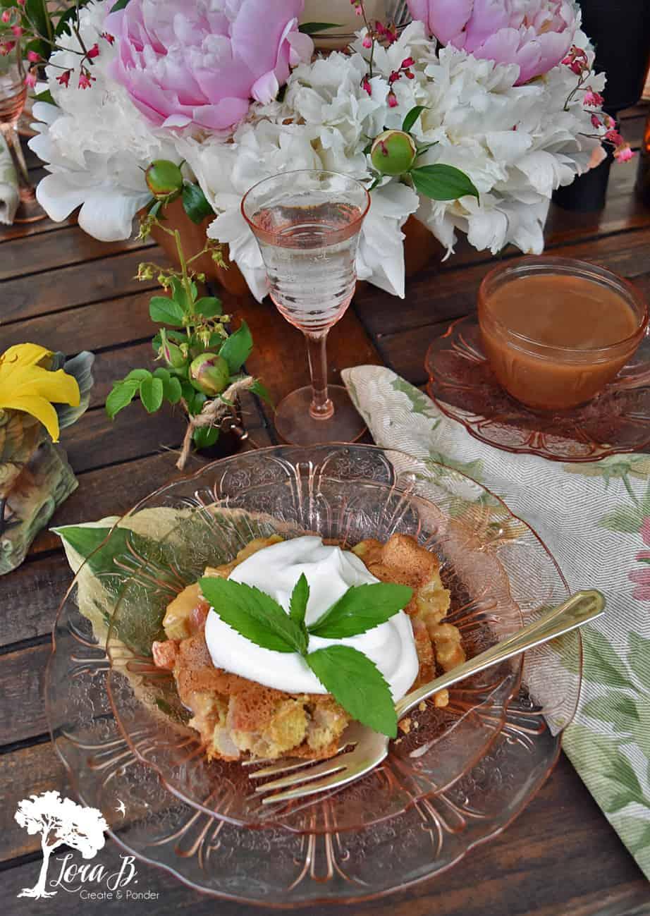Rhubarb Crunch Dessert