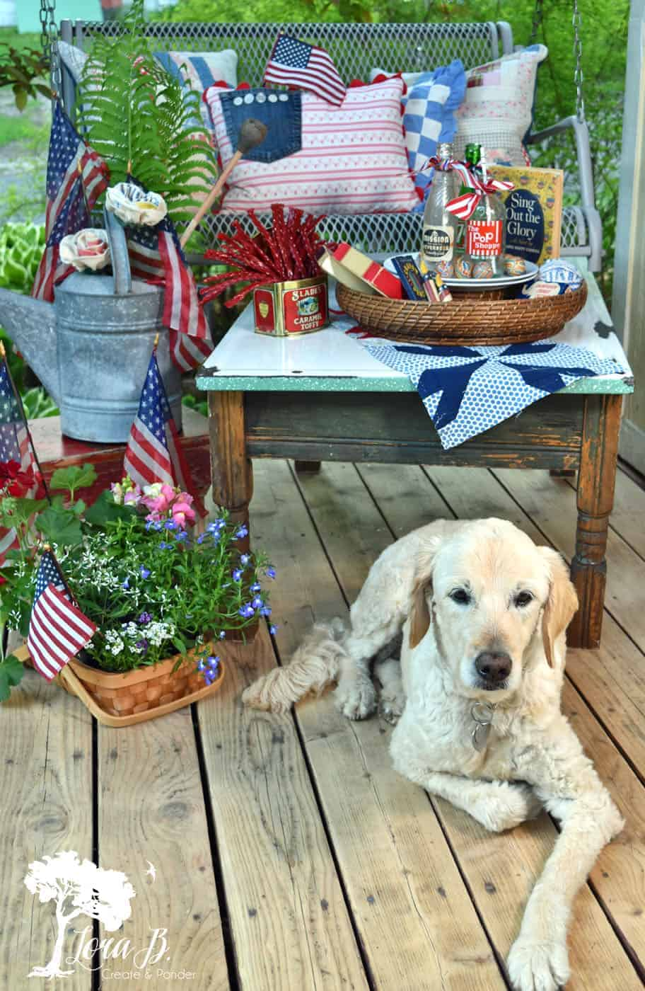 patriotic porch decorating ideas