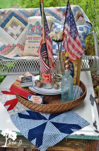 Patriotic vintage decor ideas