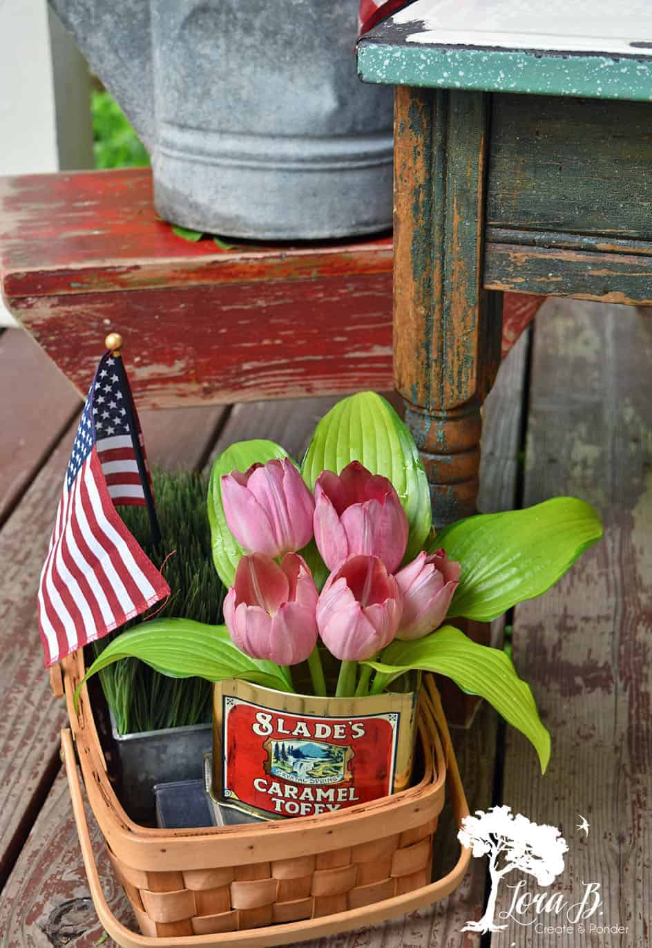 Patriotic vintage decor ideas