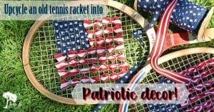 Patriotic Tennis Racket