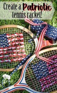 Patriotic Tennis Rackets