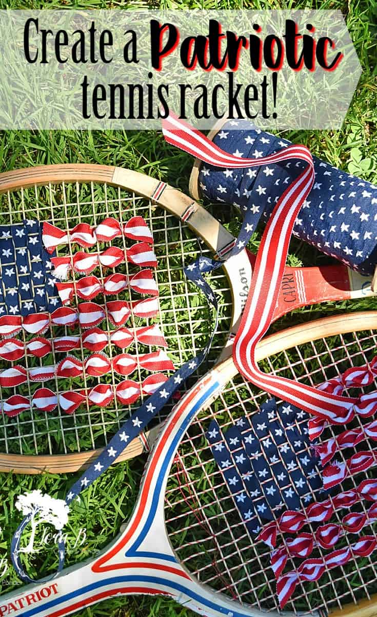 Patriotic Tennis Rackets