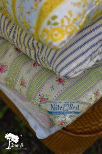 Ticking Pillows