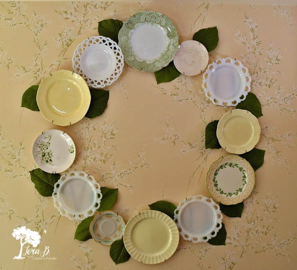 Plate Wall Display