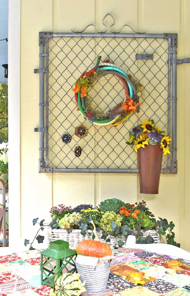 Old water handles are fun outdoor decor; some of my recent vintage finds.