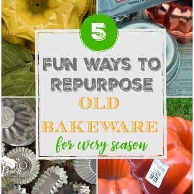 5 Fun Ways to Repurpose Old Bakeware