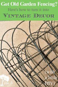 vintage fencing ideas