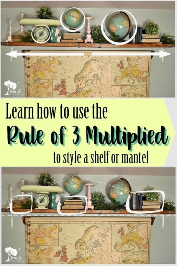 Styling Tips: Using the Rule of 3 Multiplied