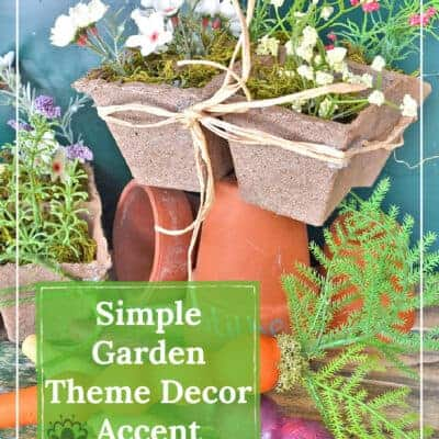 Simple Garden Theme Decor DIY