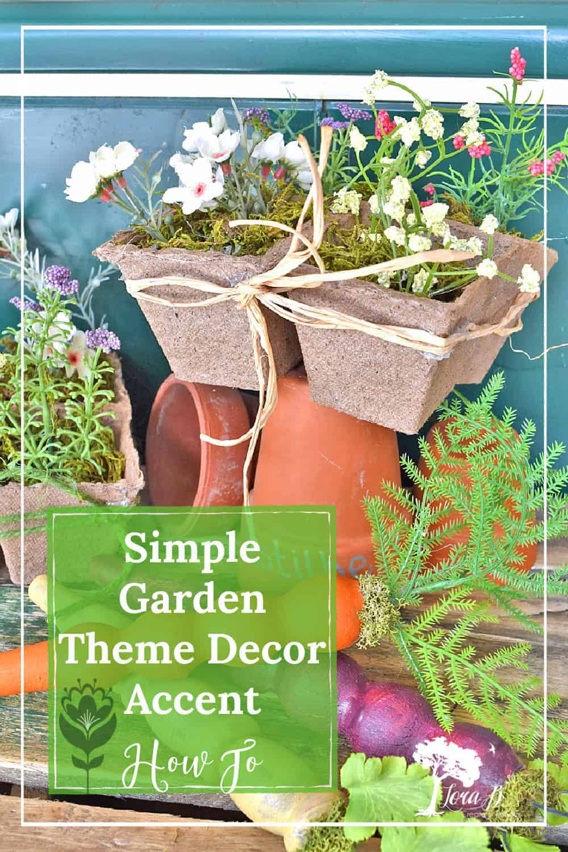Simple Garden Theme Decor DIY
