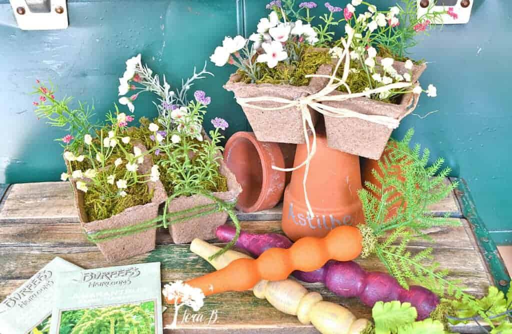garden decor theme floral diy