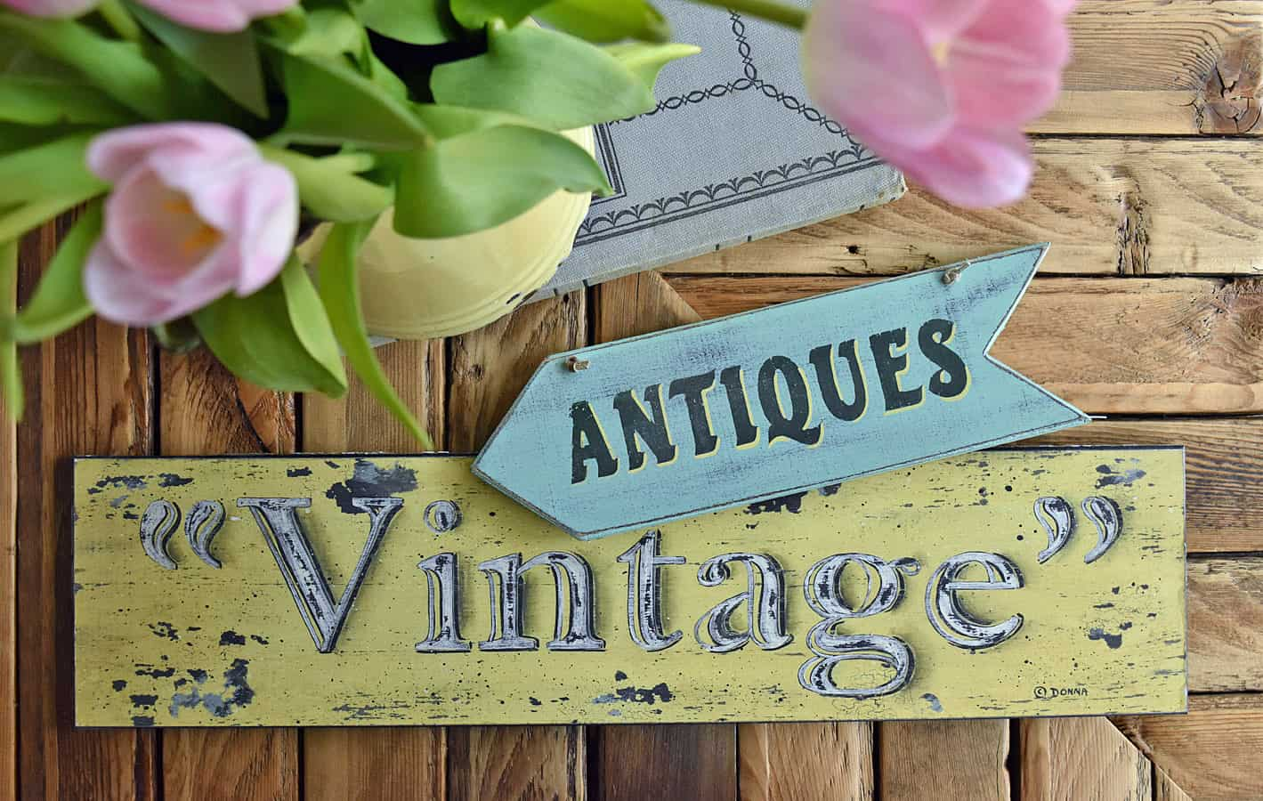 Vintage/Antique signs