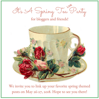 Spring Tea and Roses Link Party