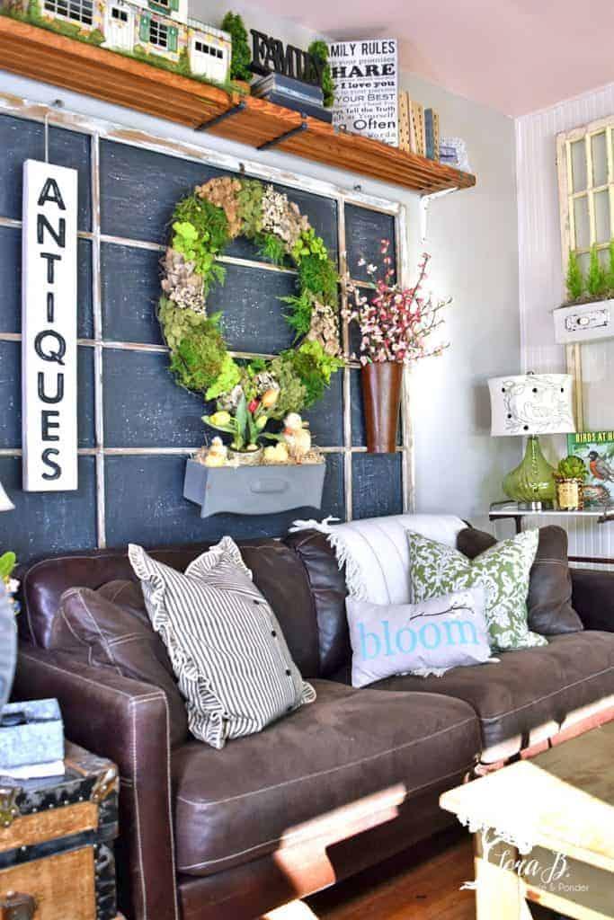 Spring Living Room Tour