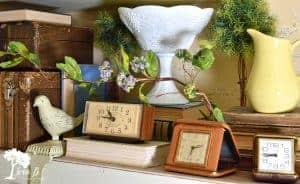 vintage travel clocks