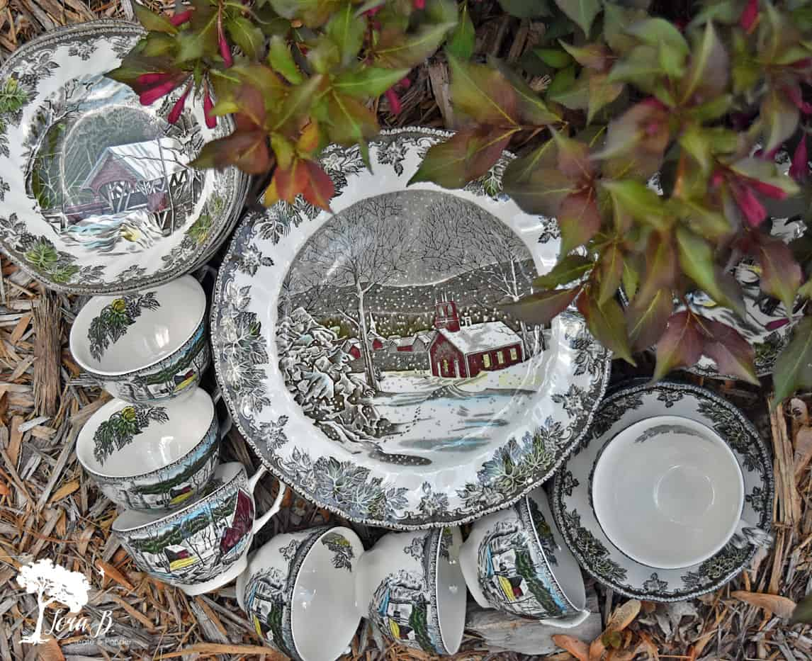 Friendly Village plates