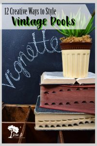 Decorating with Books 101 and Beyond
