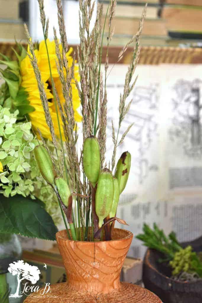 grasses bouquet