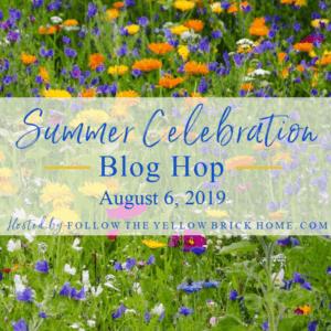summer decorating ideas blog hop