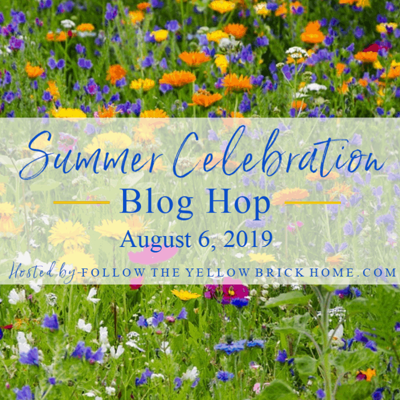 summer decorating ideas blog hop