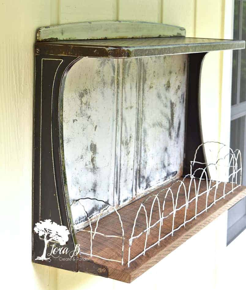 upcycled vintage stove