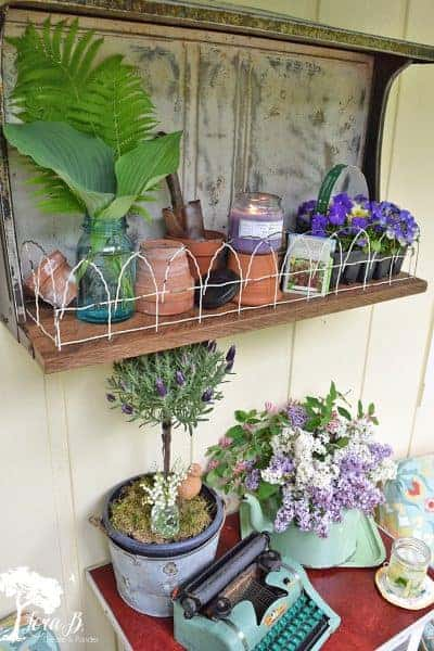 garden porch decor