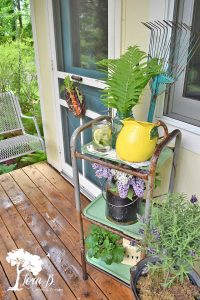 summer porch decor