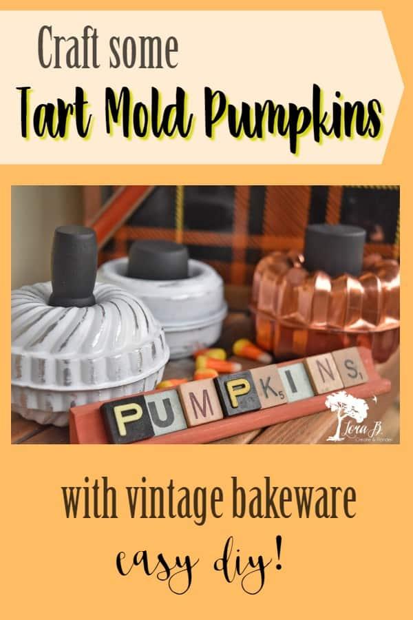 Tart Mold Pumpkin how-to
