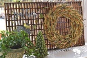 wreath hanging ideas