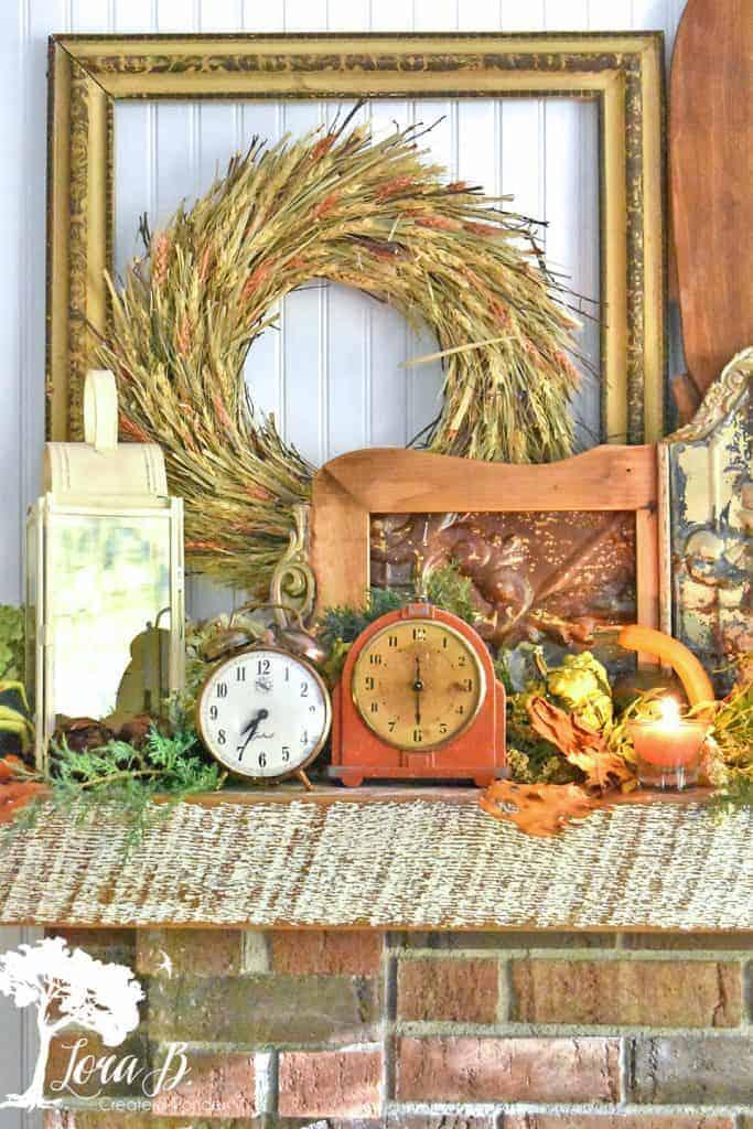 Vintage harvest decor