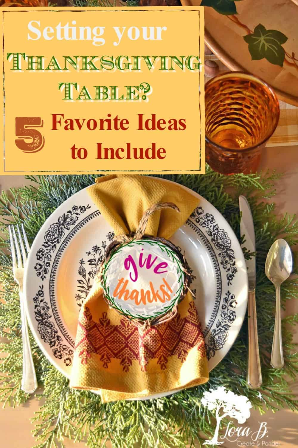 Favorite Thanksgiving Table Setting Ideas for a Cozy Gathering