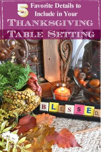ideas for Thanksgiving tables