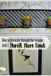 All Season Decorating with One Thrift Store Find