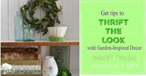 garden-inspired decor