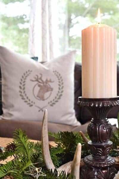 winter cabin decor