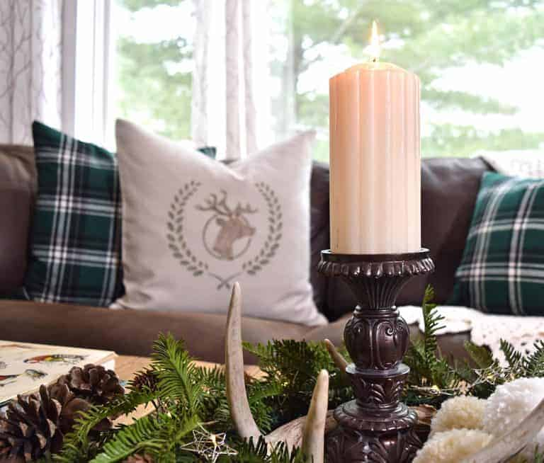 How to Decorate to Thrift the Look, Winter Cabin Style