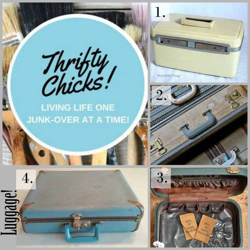 Thrifty Chicks Luggage Challenge
