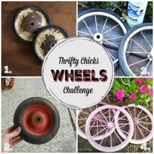 repurposed wheel ideas