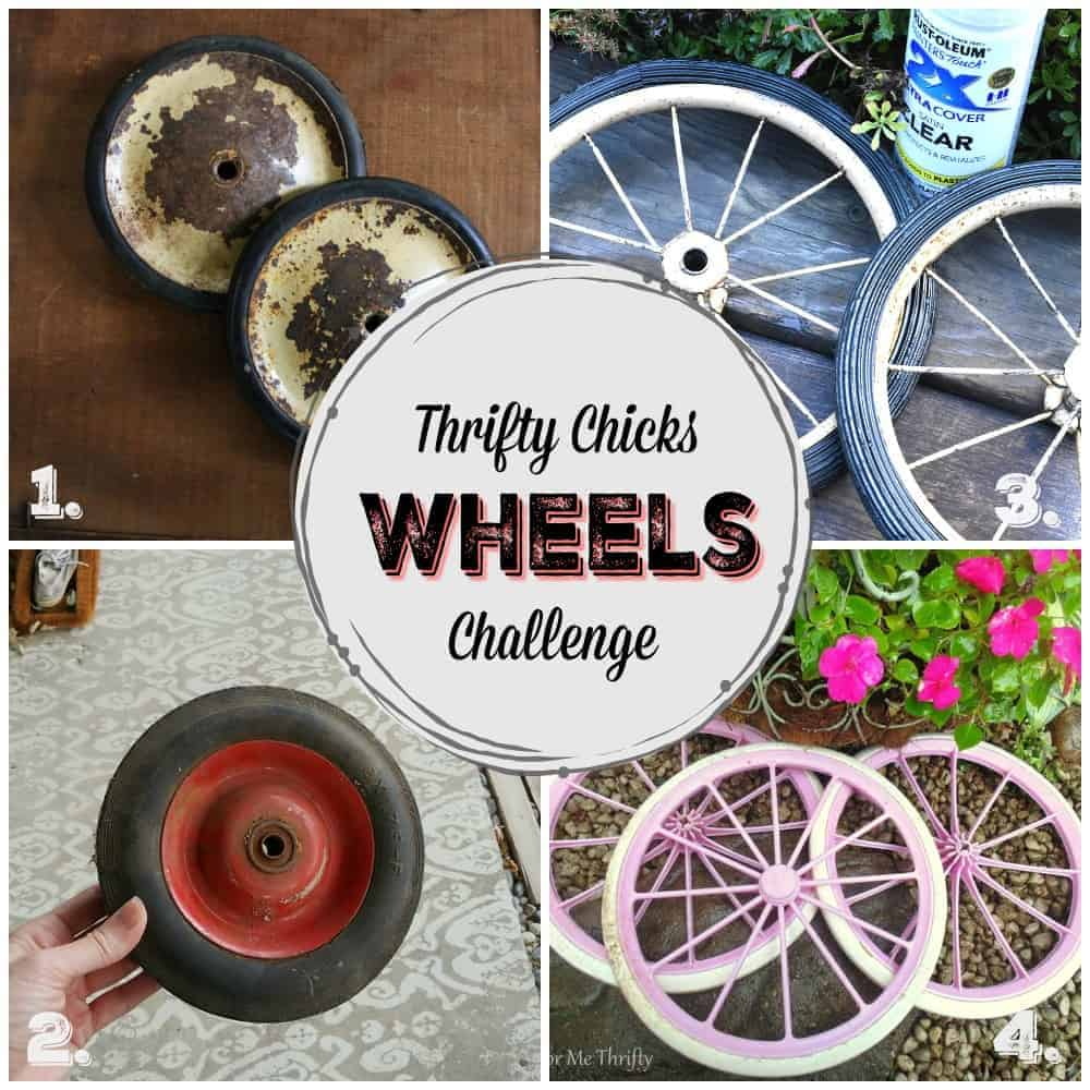 repurposed wheel ideas