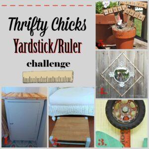 thrifty chicks yardstick/ruler challenge