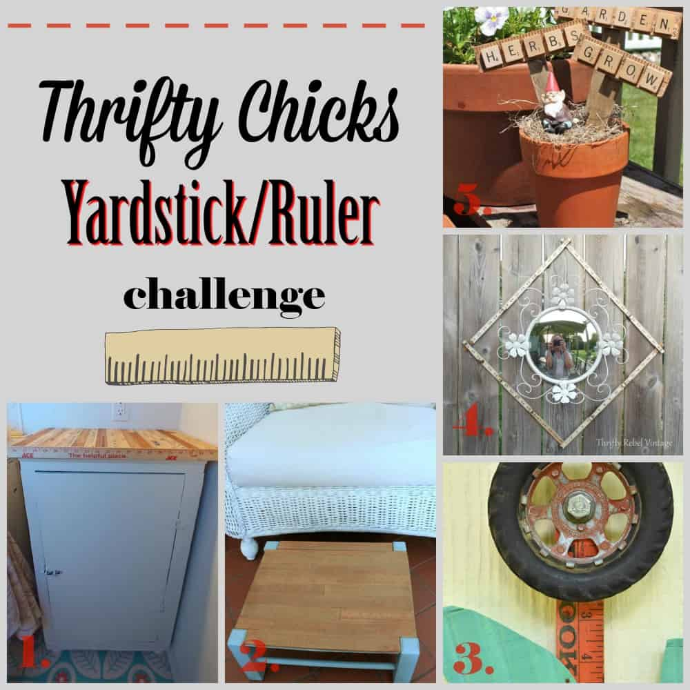 thrifty chicks yardstick/ruler challenge