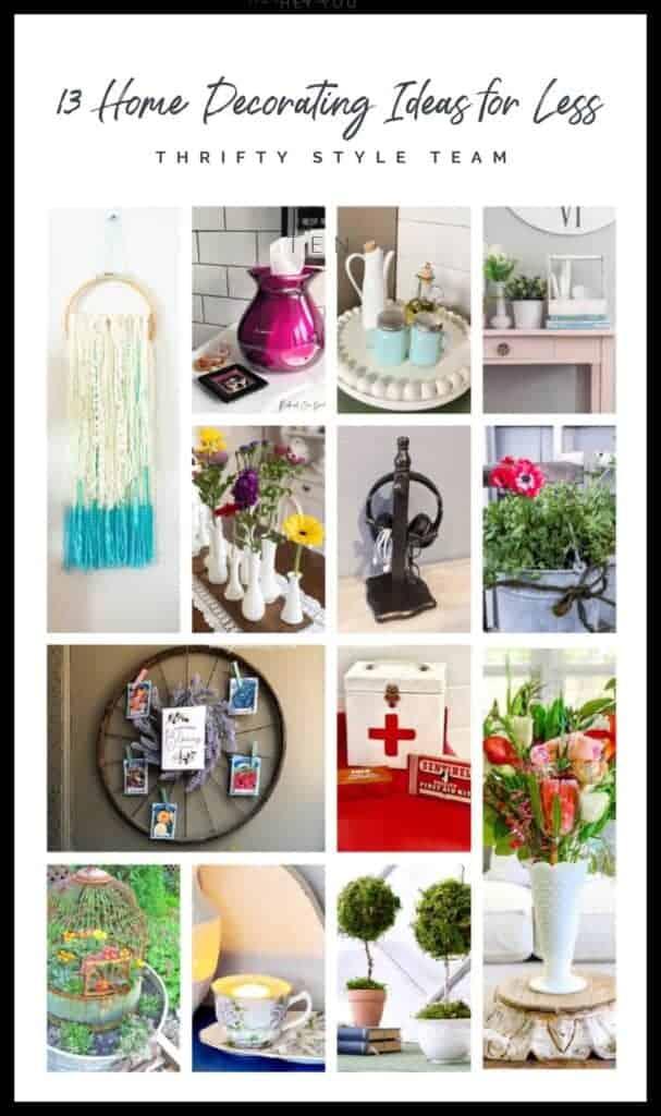 thrifty diy and decor ideas blog hop