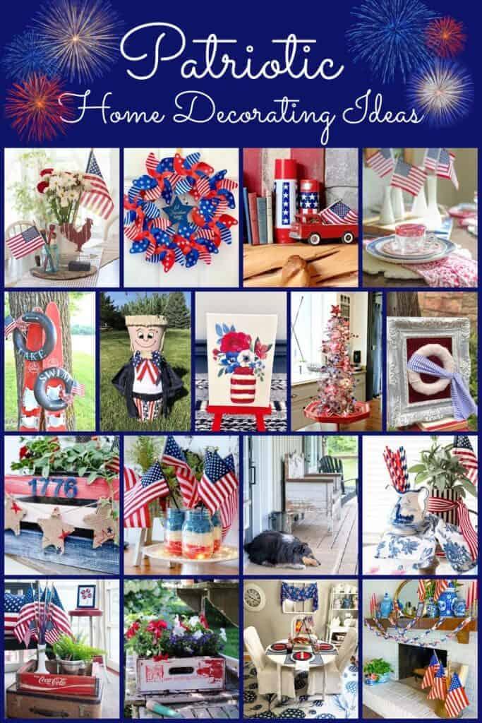 Patriotic Thrifty Ideas collage