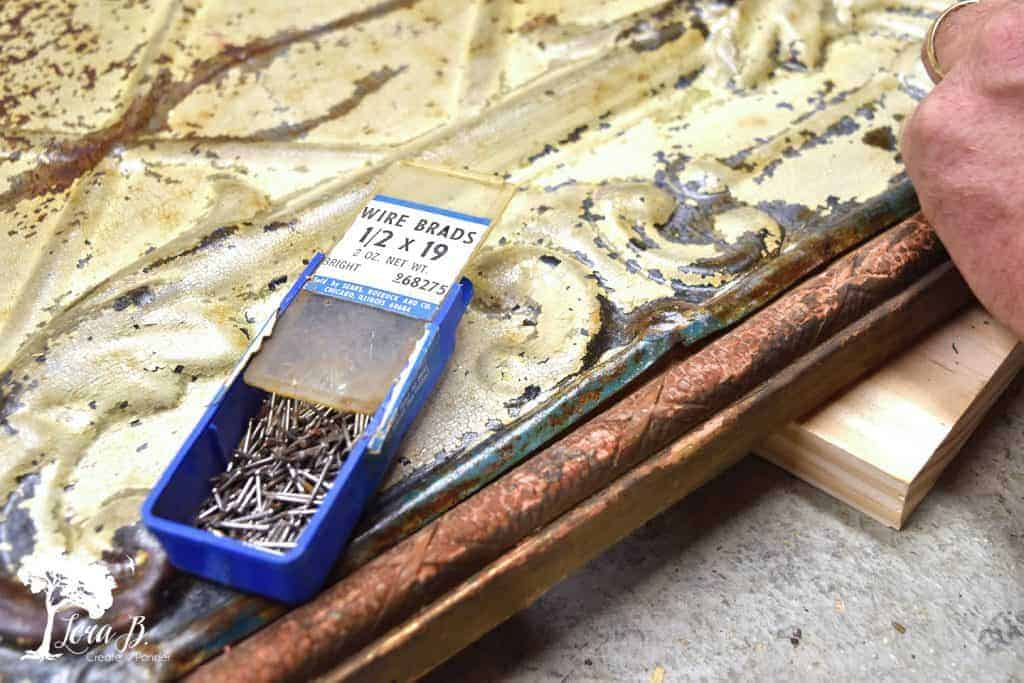 vintage ceiling tin