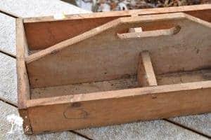vintage tool caddy