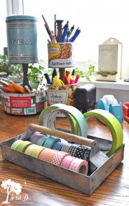 decorating ideas for old tool boxes