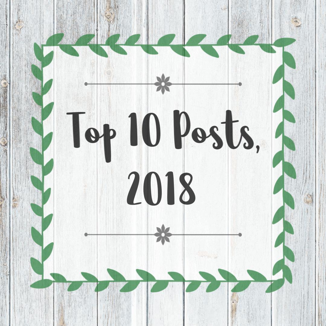Top 10 Posts, 2018