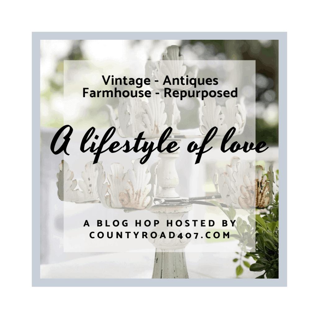 vintage decor style blog hop